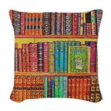 Librarian Woven Pillows