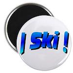 I Ski Magnet