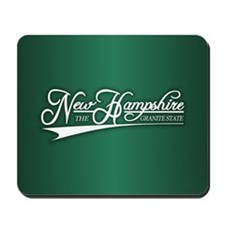 New Hampshire State of Mine Mousepad