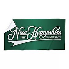 New Hampshire State of Mine Beach Towel