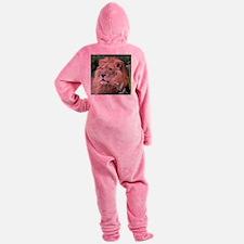 Lion010 Footed Pajamas