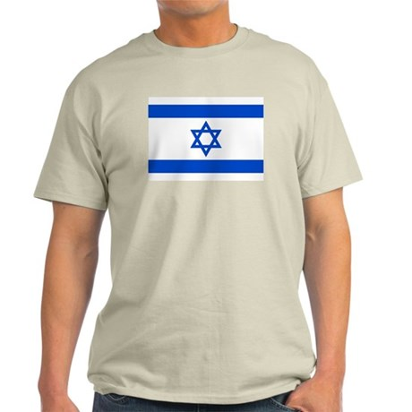 Israel Flag Light T-Shirt