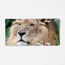 Lion010 Aluminum License Plate