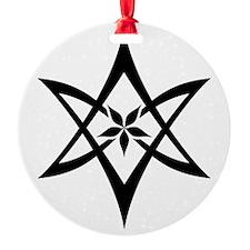 Unicursal Hexagram Lotus Ornament
