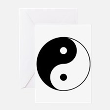 Classic YinYang Greeting Cards