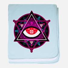 Unique Illuminati baby blanket