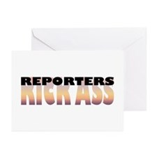 Reporters Kick Ass Greeting Cards (Pk of 10)