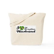 I love my Brazilian Husband Tote Bag