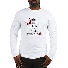 Cute Zombie Long Sleeve T-Shirt