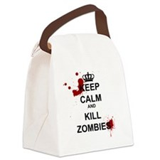 Unique Zombie Canvas Lunch Bag