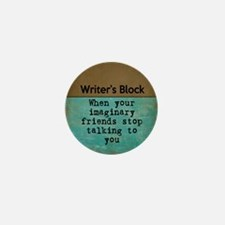 Writer's Block Mini Button (100 pack)