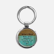 Writer's Block Keychains