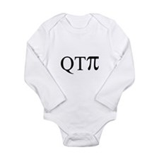 Unique Nerdy Long Sleeve Infant Bodysuit