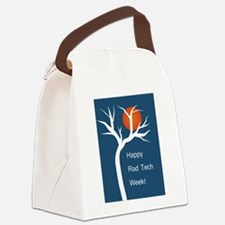Funny Xray tech Canvas Lunch Bag