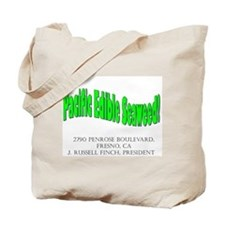 Pacific Edible Seaweed Tote Bag
