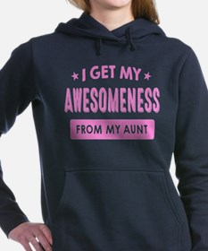 I Get My Awesomeness From My Aunt Women's Hooded S