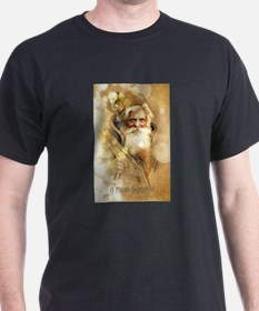 Golden Santa Claus T-Shirt