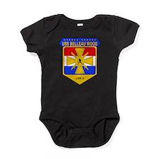 US Navy USS Belleau Wood LHA 3 Baby Bodysuit