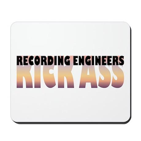 Recording Engineers Kick Ass Mousepad