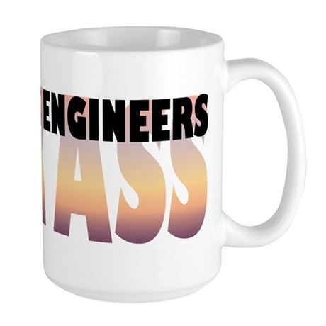 Recording Engineers Kick Ass Large Mug