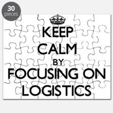 Keep Calm by focusing on Logistics Puzzle