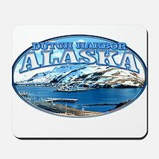DUTCH HARBOR ALASKA Mousepad