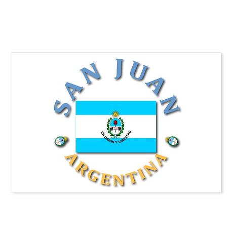 San Juan Postcards (Package of 8)