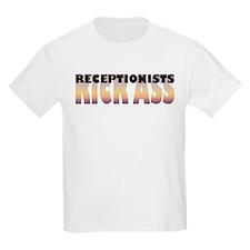 Receptionists Kick Ass T-Shirt