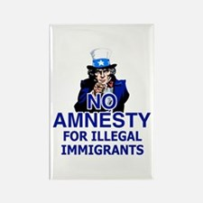 Amnesty Rectangle Magnet