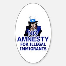 Amnesty Oval Decal
