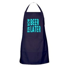 Run Now Beer Later Apron (dark)