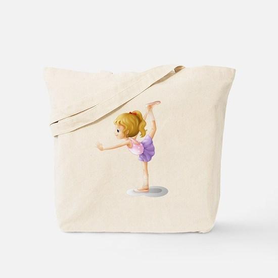 A gymnast Tote Bag