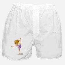 A gymnast Boxer Shorts