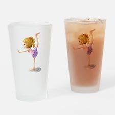 A gymnast Drinking Glass
