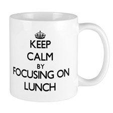 Keep Calm by focusing on Lunch Mugs