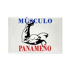 Músculo Panameño Rectangle Magnet