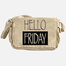 Hello Friday Messenger Bag