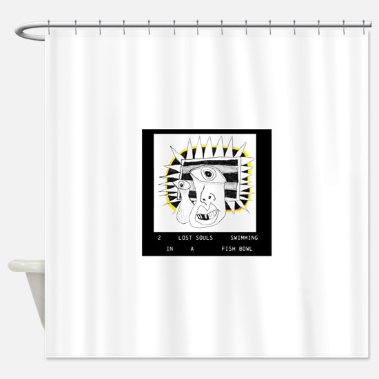 Pink Floyd Wish You Were Here Shower Curtain