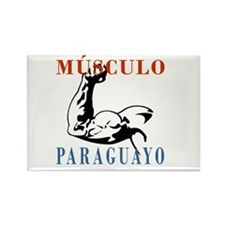 Músculo Paraguayo Rectangle Magnet