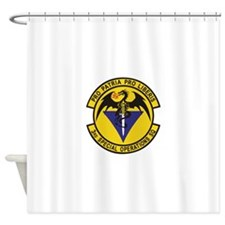 3rd_sos.png Shower Curtain