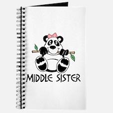 Cute Panda Middle Sister Journal