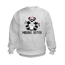 Cute Panda Middle Sister Sweatshirt