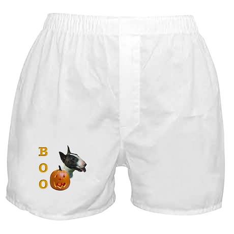 Bull Terrier Boo Boxer Shorts