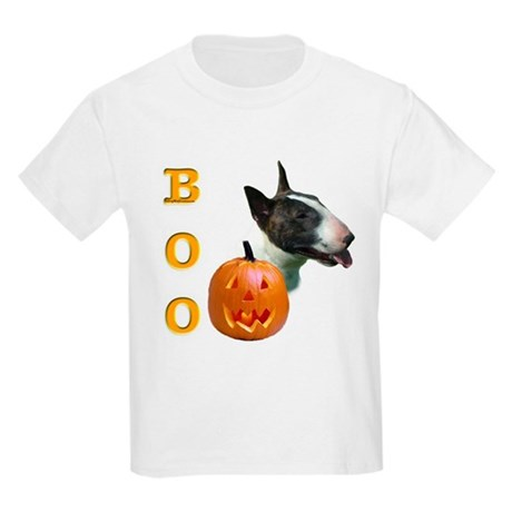 Bull Terrier Boo Kids Light T-Shirt