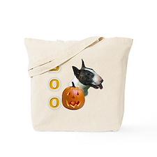 Bull Terrier Boo Tote Bag