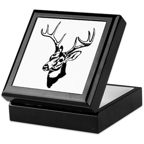 8 Point Buck - Whitetail Keepsake Box