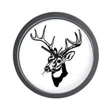 8 Point Buck - Whitetail Wall Clock