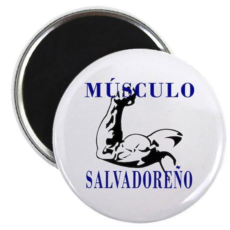 """Músculo Salvadoreño 2.25"""" Magnet (10 pack)"""