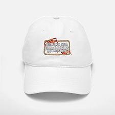 CRABBERS GO DEEPER Baseball Baseball Cap