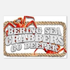CRABBERS GO DEEPER Postcards (Package of 8)